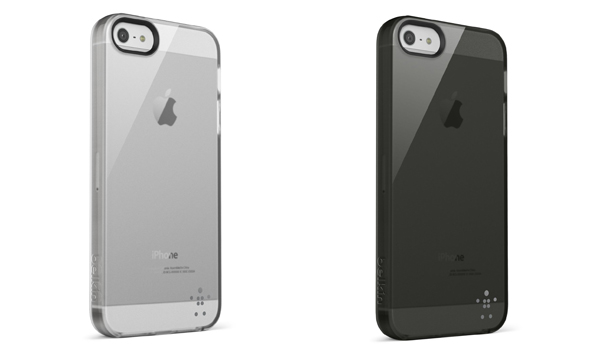 Funda traslúcida iPhone 5