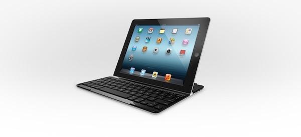 Funda con teclado para iPad