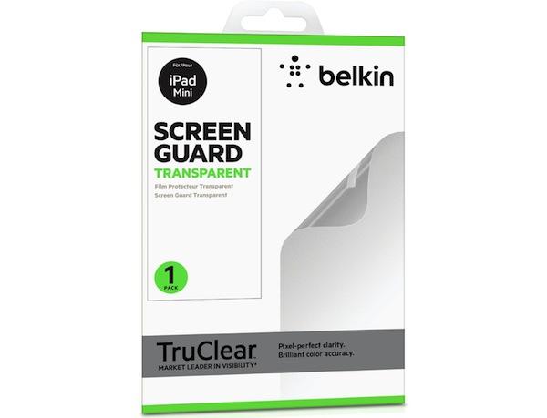 Protector de pantalla para el iPad Mini fabricado por Belkin