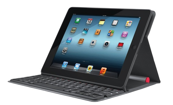 Funda con teclado para iPad de Logitech