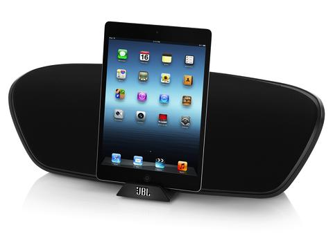 Dock con altavoces para iPad