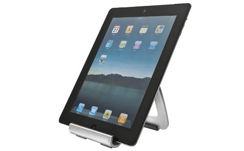 Soporte de iPad fabricado en aluminio