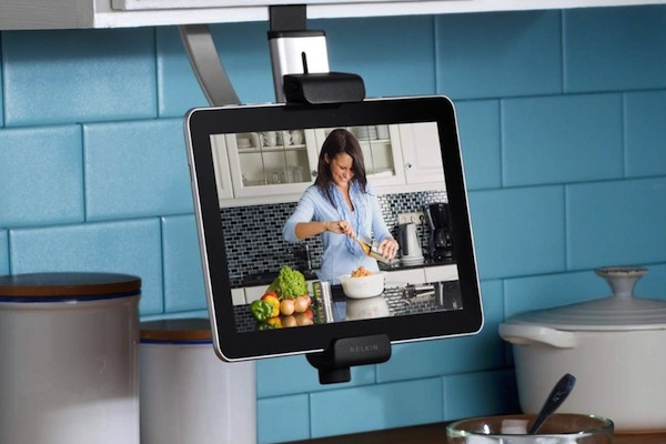 Soporte de cocina para iPad