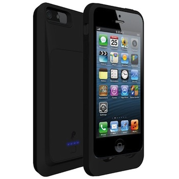 Funda con batería PowerSkin para iPhone 5