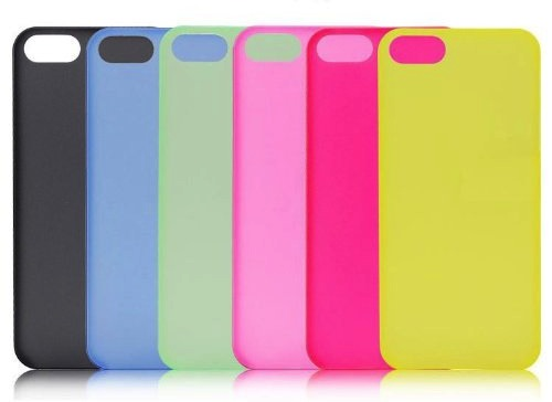 Carcasa de colores para iPhone 5