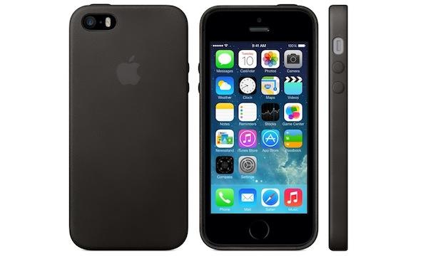 Funda de piel para iPhone 5S