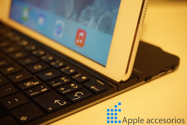 Teclado Logitech Ultrathin para iPad Mini
