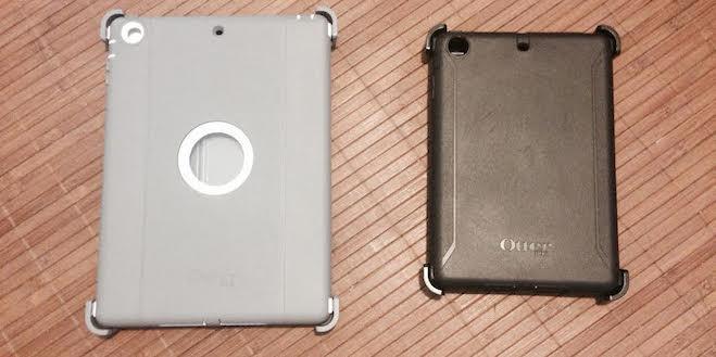 Otterbox iPad Air vs iPad Mini