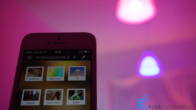 Philips Hue para iPhone