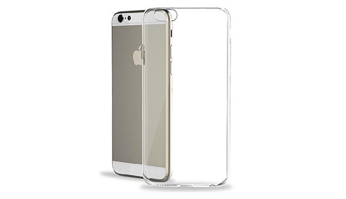 Funda transparente para iPhone 6