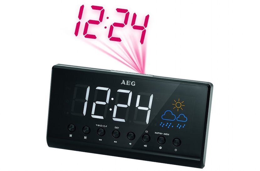 Despertador AEG con radio
