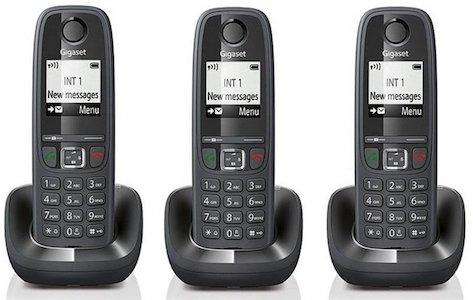 comprar Teléfono inalámbrico trío Gigaset AS405 barato