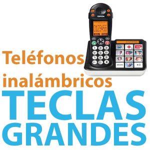 Telefono inalambrico con teclas grandes