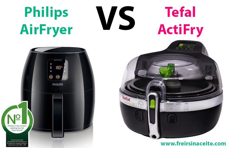 Philips AirFryer vs Tefal Actifry