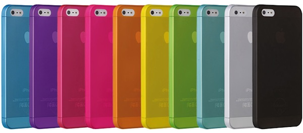 96568c5369b Funda de colores para iPhone 5 Ozaki O!Coat Jelly: fina, ligera y barata