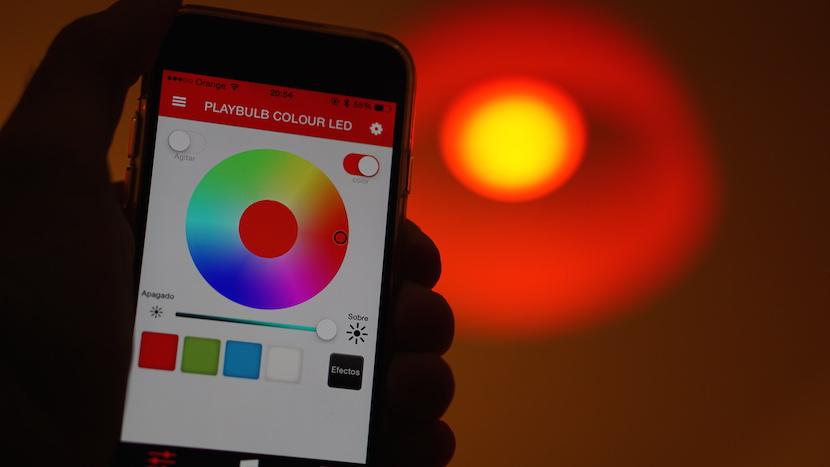Playbulb color