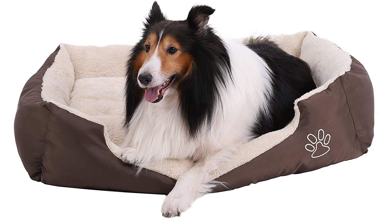 Cama para perros songmics