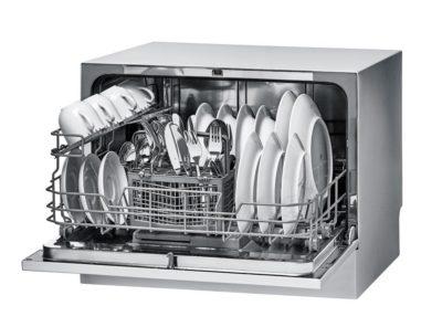 Interior de lavavajillas compacto