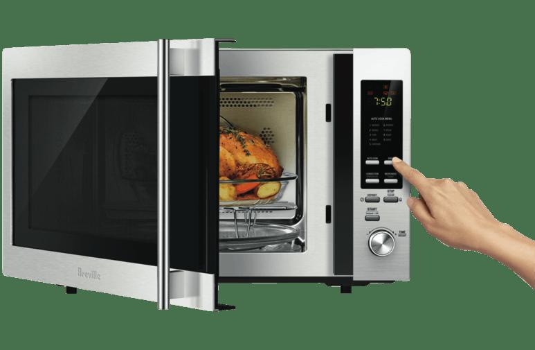 Asado en microondas con grill