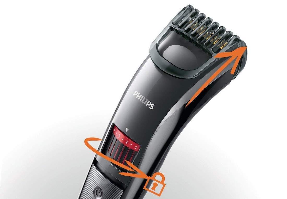 funcionamiento cortapelos para la barba philips