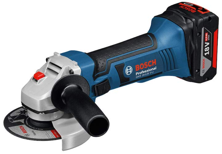 Bosch amoladora con batería