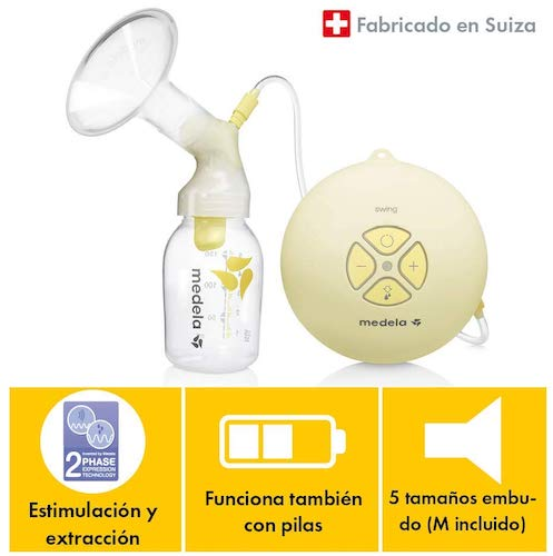 caracteristicas Medela Sacaleches Swing