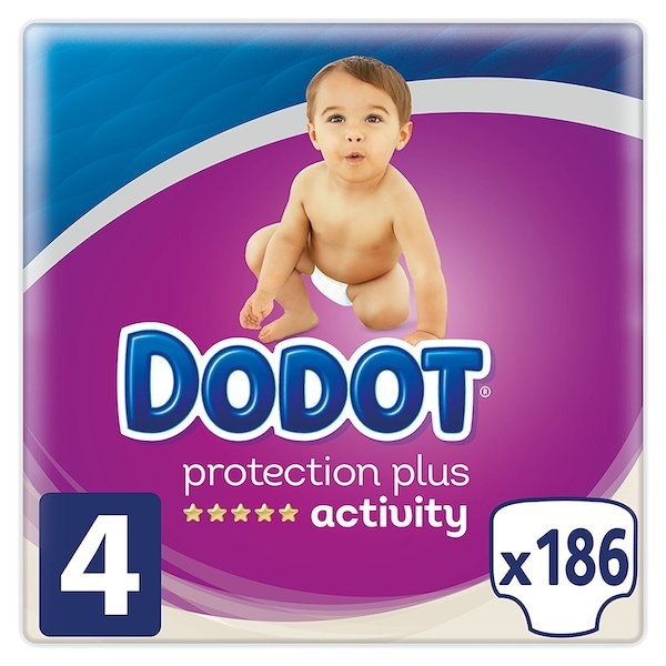 Pañales dodot plus activity