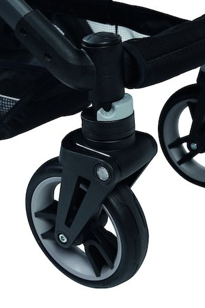 ruedas del cochecito de bebe