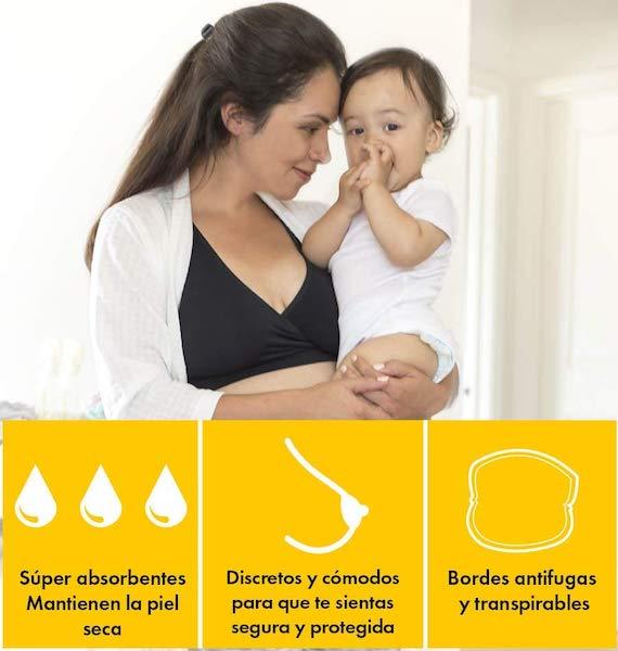 ventajas discos de lactancia