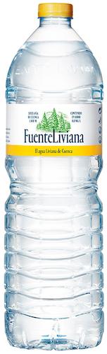 agua fuente liviana