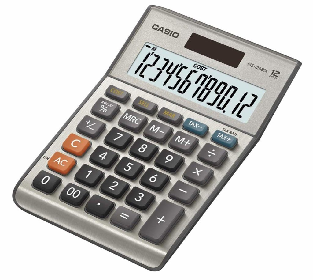 calculadora casio simple
