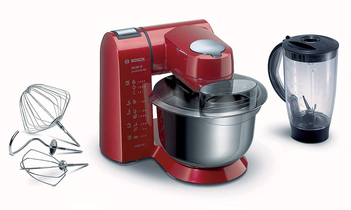 el mejor robot de cocina bosch