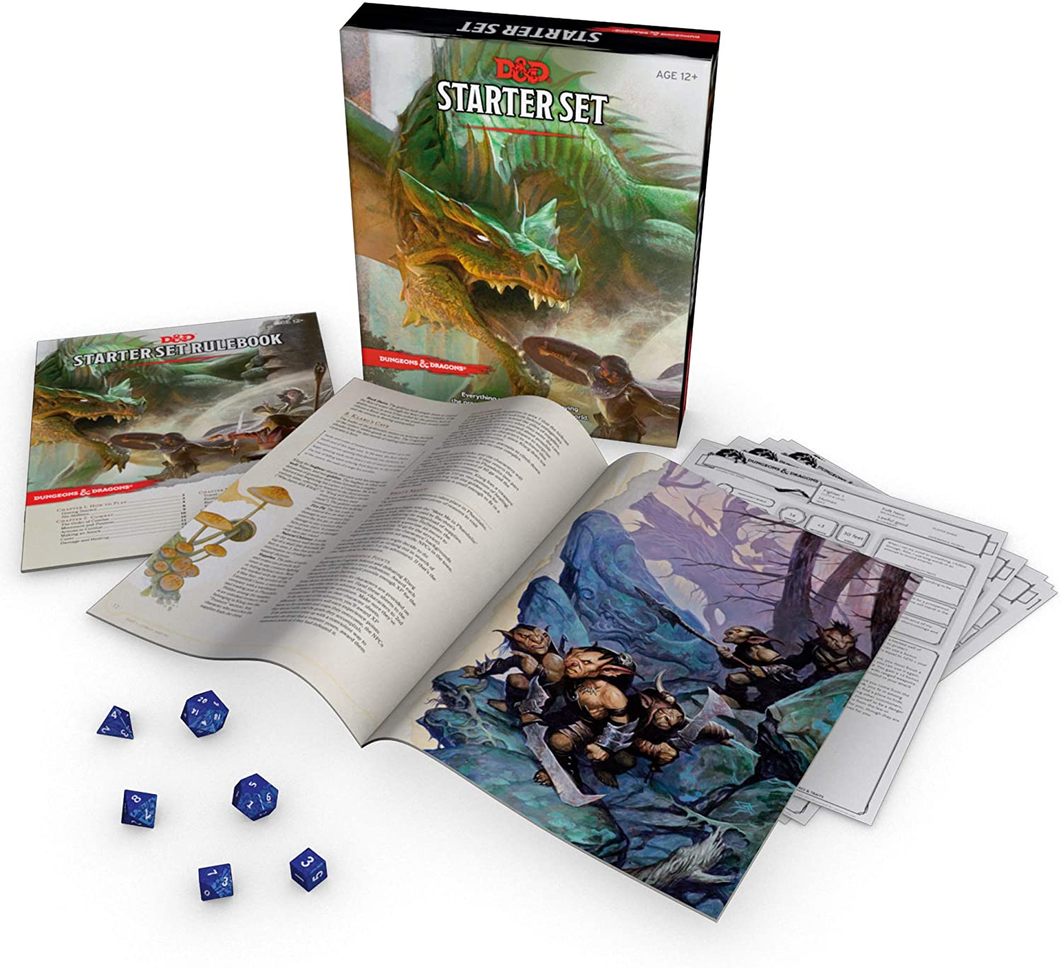 starter kit dungeons dragons