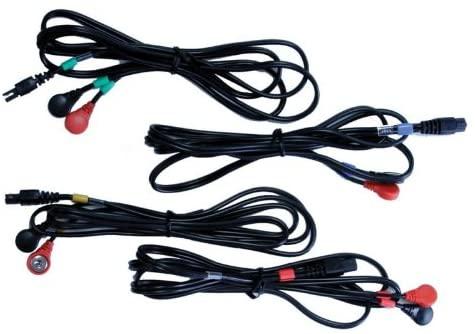 cables electroestimulador compex