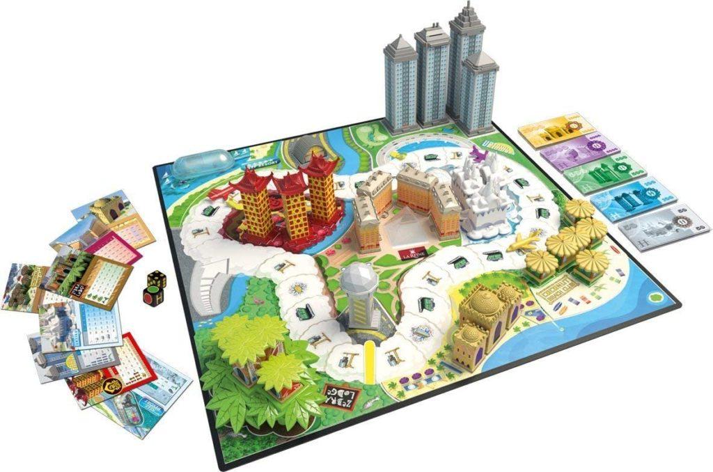 tablero juego hotel
