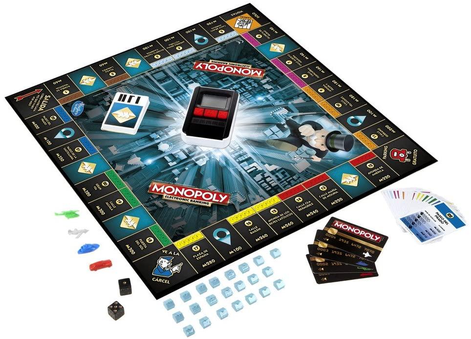 tablero monopoly electronico