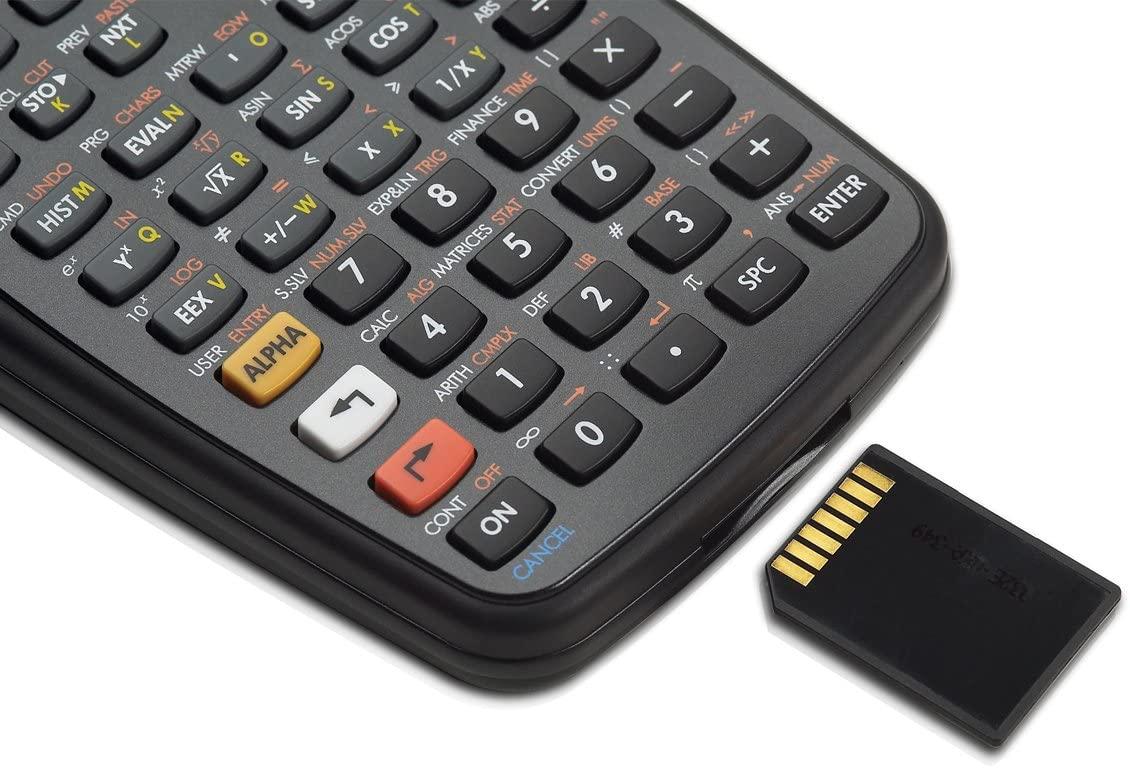 calculadora hp 50g con tarjeta sd