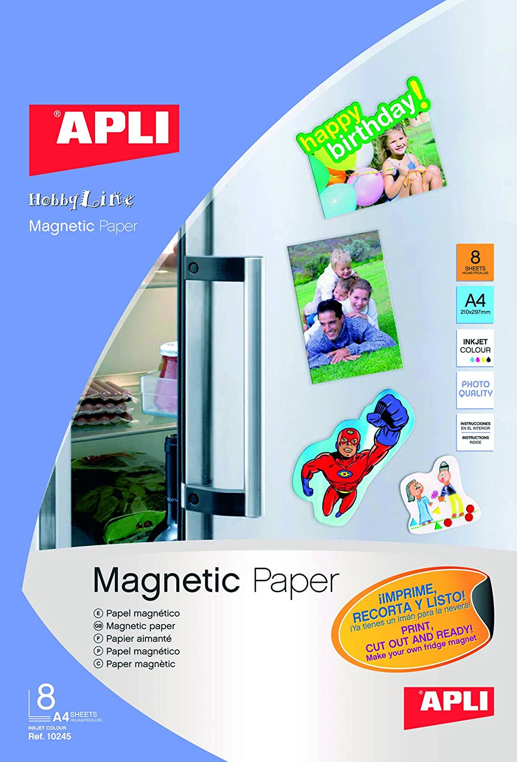 papel magnetico