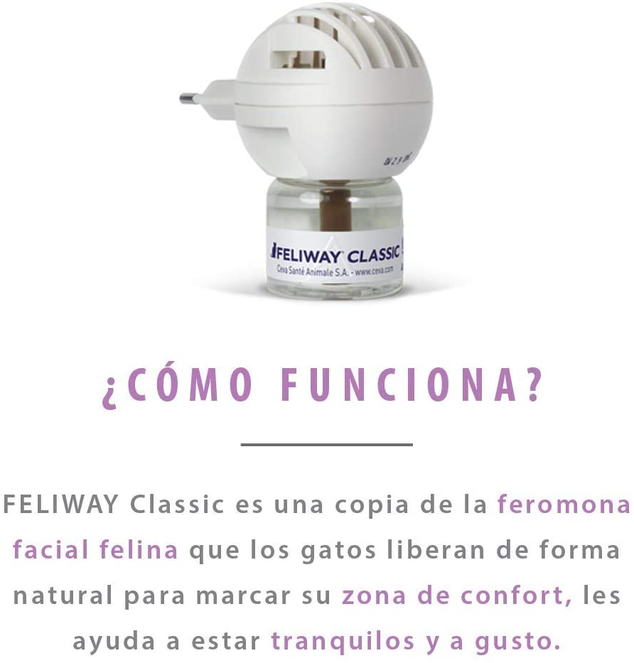 como funciona feliway