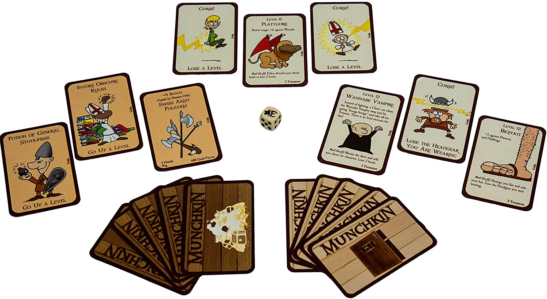 cartas del juego munchkin